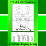 St. Patrick's Day - It's a Leprechaun - A Coordinate Graph
