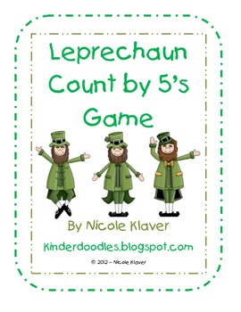 Leprechaun Count by 5's Math Game