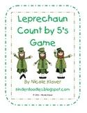 Leprechaun Count by 5's Math Game
