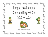Leprechaun Counting On 20 - 50