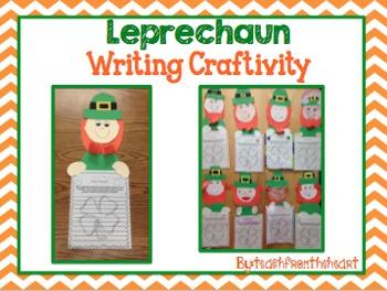 Leprechaun Writing Craft (A St. Patrick's Day Craft)