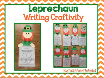 Leprechaun Writing Craft (A St. Patrick's Day Craft)