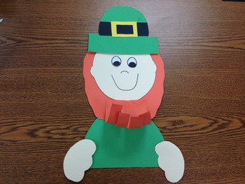 Leprechaun Craft (A St. Patrick's Day Craft)