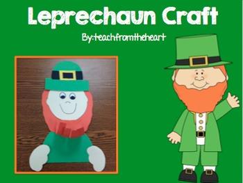Leprechaun Craft (A St. Patrick's Day Craft)