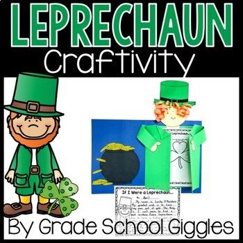 St. Patrick's Day Leprechaun Writing Activity and Craft