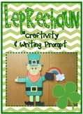 Leprechaun Craftivity and Writing Prompt