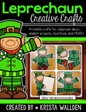 Leprechaun Crafts, Puppet and Decorations {Single Classroom Use}