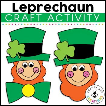 Leprechaun Cut and Paste