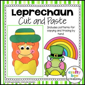 Leprechaun Cut and Paste