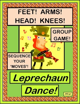 """""""Leprechaun Dance!"""" - Active Game for St. Patrick's Day!"""