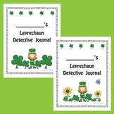 Leprechaun Detective Journal (St. Patrick's Day Freebie)