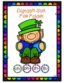 Leprechaun Digraph File Folder