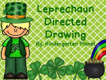 It's just an image of Universal Directed Drawing Leprechaun