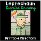 Leprechaun Directed Drawing