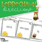 St Patricks Day Creating and Following Directions for Speech Therapy