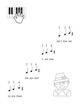 Leprechaun Easy Piano