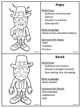 Leprechaun Emotions
