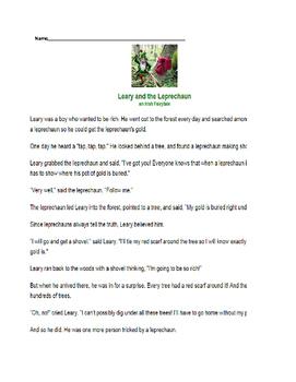 Leprechaun Fairytale