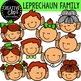 Leprechaun Family: St. Patrick's Day Clipart {Creative Clips Clipart}