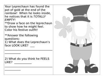 Leprechaun Feeling Faces