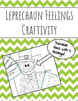Leprechaun Feelings Craftivity