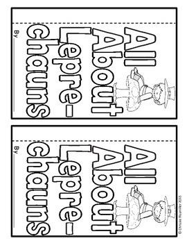 Leprechaun Flip Book