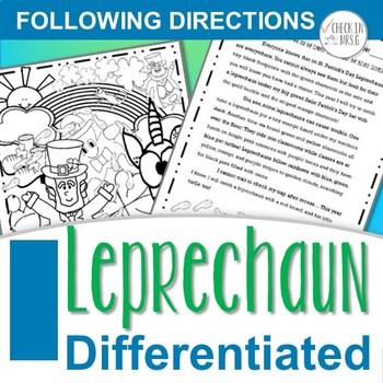 Leprechaun Following Directions