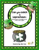 Leprechaun Fun {Create a Leprechaun trap & then a scavenge