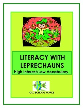 St. Patrick's Day Leprechaun High Interest Low Vocabulary Literacy Unit