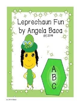Leprechaun Fun St Patrick's Day Phonics and Writing Center