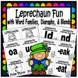 Leprechaun Fun with Word Families Digraphs and Blends