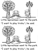 """""""Leprechaun Goes to the Park"""" (A March Emergent Reader Dollar Deal)"""