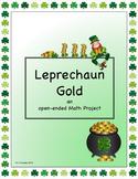 Leprechaun Gold - an open-ended Math project