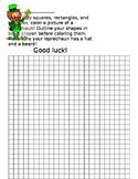 Leprechaun Grid Paper Challenge