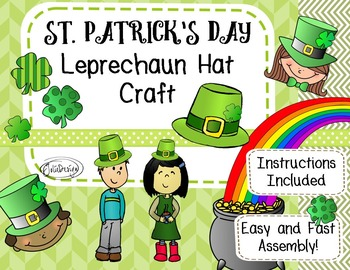 photo regarding Leprechaun Hat Printable named Leprechaun Hat Printable Craft through JolieDesign Academics Shell out