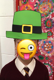 Leprechaun Hat- St. Patrick's Day Art