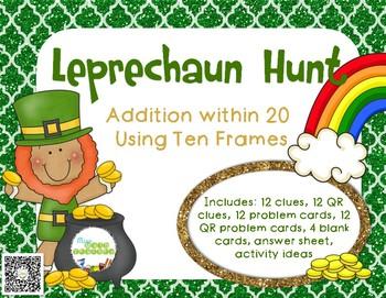 Leprechaun Hunt: Addition within 20 with Ten Frames