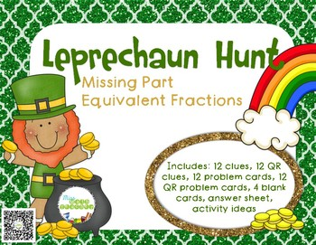 Leprechaun Hunt: Equivalent Fractions with Missing Parts