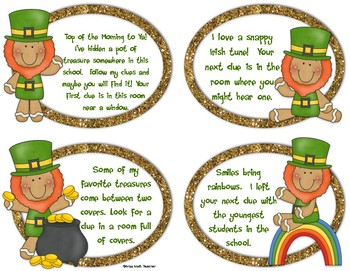 Leprechaun Hunt: Multiply by Tens and Hundreds