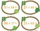 Leprechaun Hunt: Two Digit Multiplication
