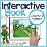Leprechaun Interactive Book Boom Cards™️   Speech Therapy St. Patrick's Day