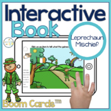 Leprechaun Interactive Book Boom Cards™️   Speech Therapy