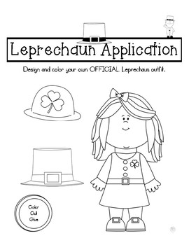 St. Patrick's Day Leprechaun Application
