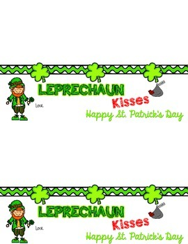 Leprechaun Kisses {St. Patty's Day} Treat