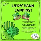 Leprechaun Landing! Desk Decorations