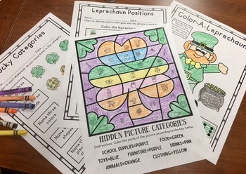 Leprechaun Language No Prep Sample