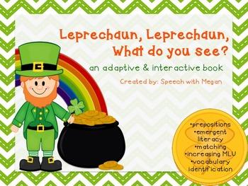 Leprechaun, Leprechaun: An Adaptive & Interactive St. Patrick's Day Book