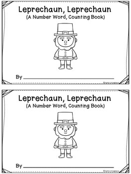 Leprechaun, Leprechaun Counting Booklets  Dollar Deal