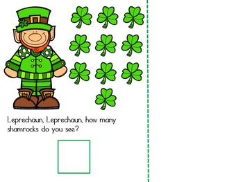 Leprechaun Leprechaun How Many Do You See? A St. Patrick's Day Adapted Book