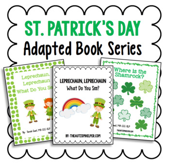 St. Patrick's Day Adapted Book Series